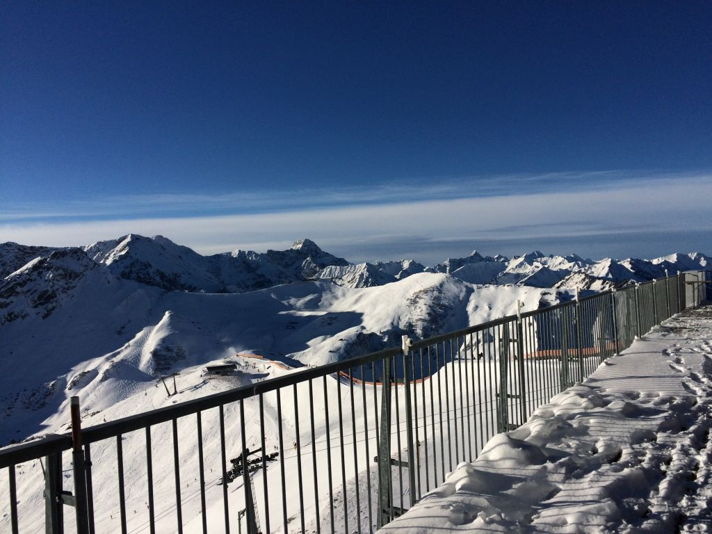 Oberstdorf im Winter - Fellhorn Gipfelstation