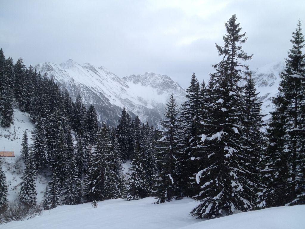 Viel Schnee auf dem Walmendingerhorn
