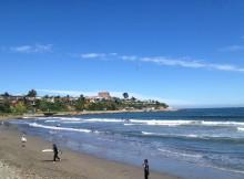 Surfen in Concon in Chile
