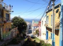 Valparaiso das Streetart-Paradies in Chile