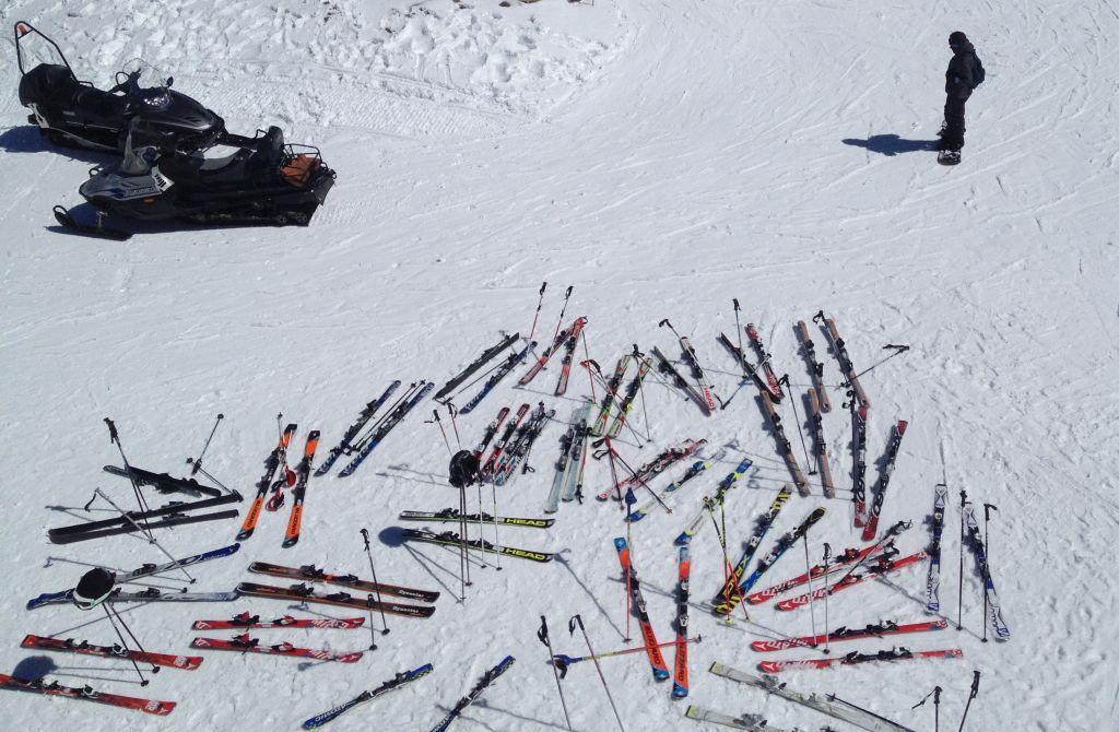 Skier in Valdesqui