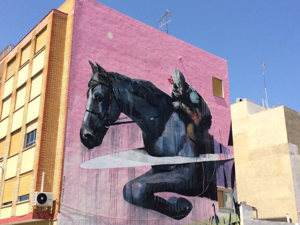 Streetart Puerto de Sagunto