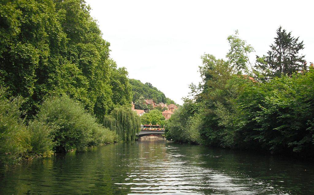 Idylle auf dem Neckar