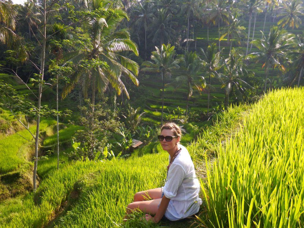 Sandy auf Bali