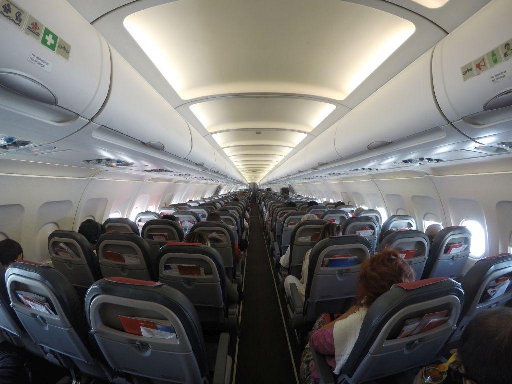 Flugzeug in die Schweiz