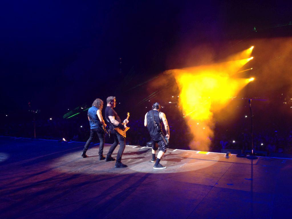 Metallica, Rock in Vienna