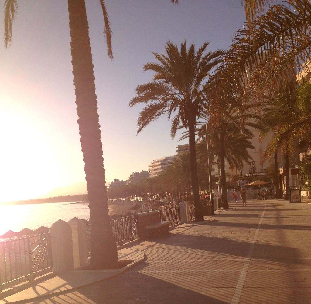 Strandpromenade Marbella