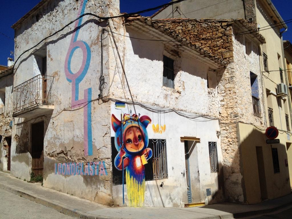 Streetart in Fanzara