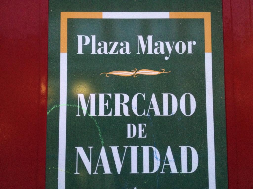 Weihnachtsmarkt auf dem Plaza Mayor