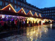 Der Weihnachtsmarkt in Madrid