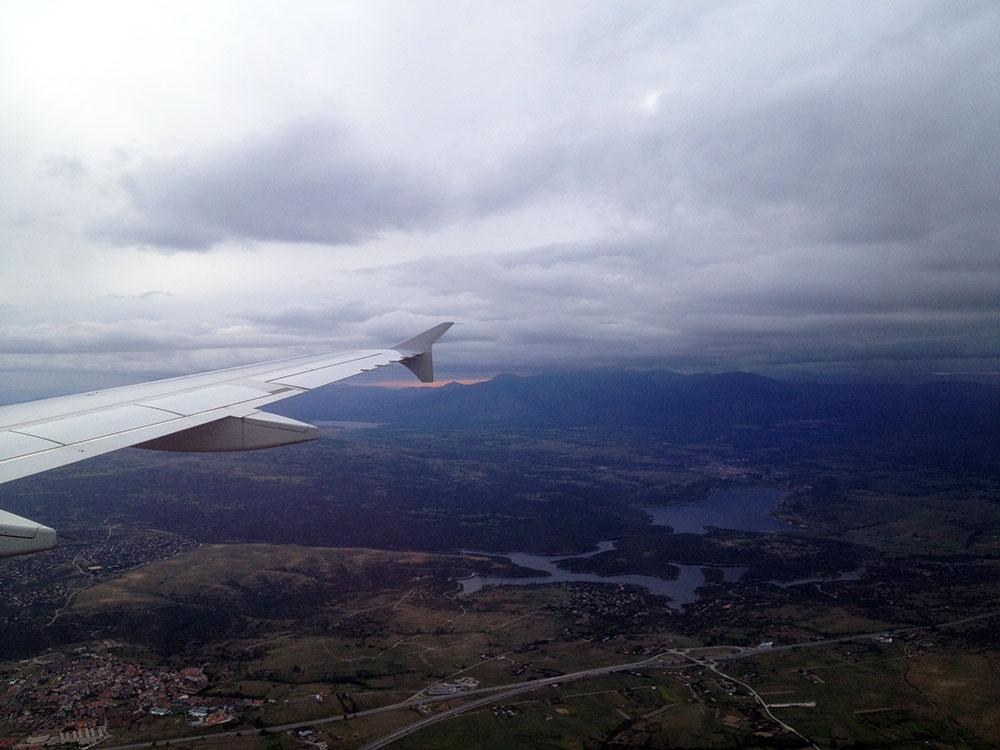 Ankommen in Madrid