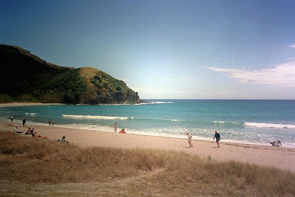 Schöner Strand im Northland in Neuseeland