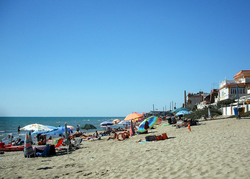Tipp für Rom: Ab an den Strand