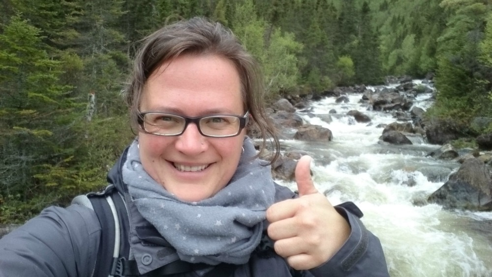 Steffi in Kanada