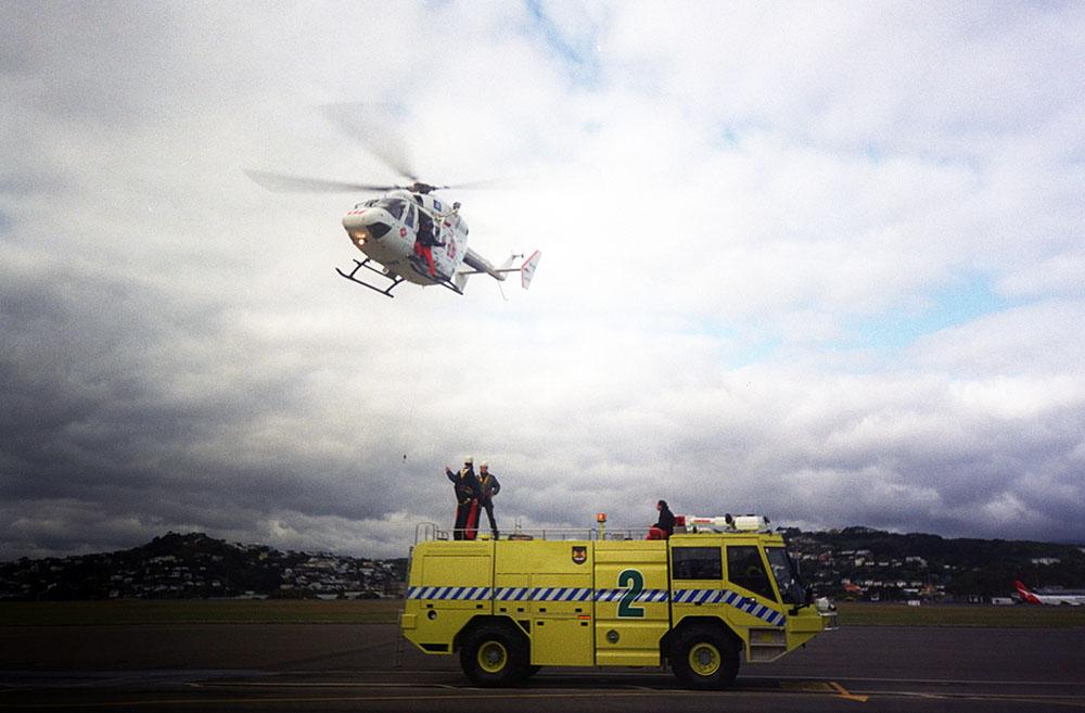 Life Flight Open Day in Wellington