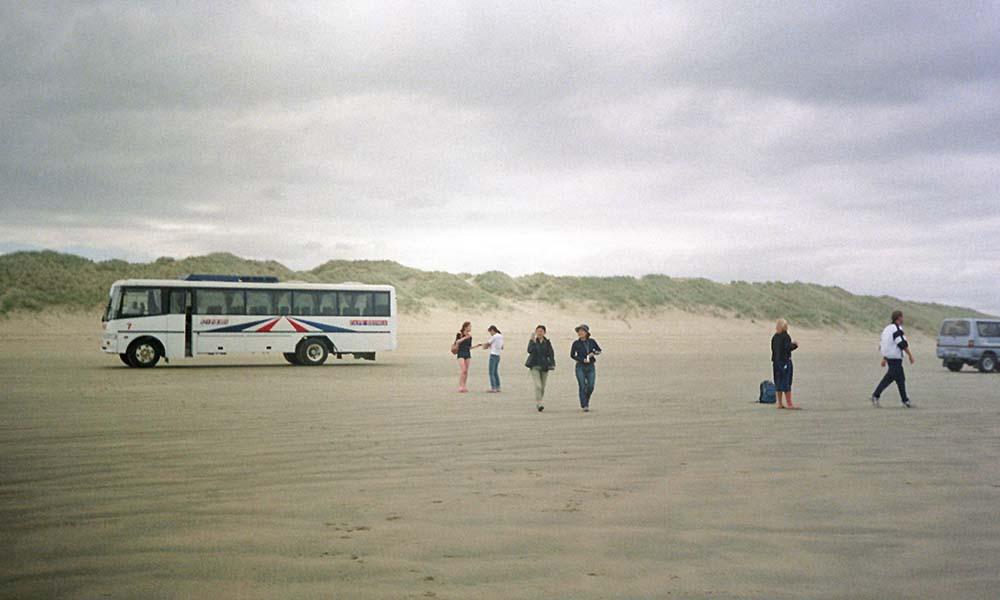 Bustour zum Ninety Mile Beach in Neuseeland
