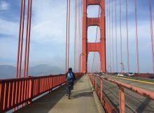 Mit dem Fahrrad über die Golden Gate Bridge