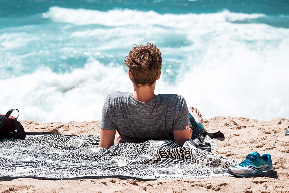 Das richtige Strandtuch einpacken