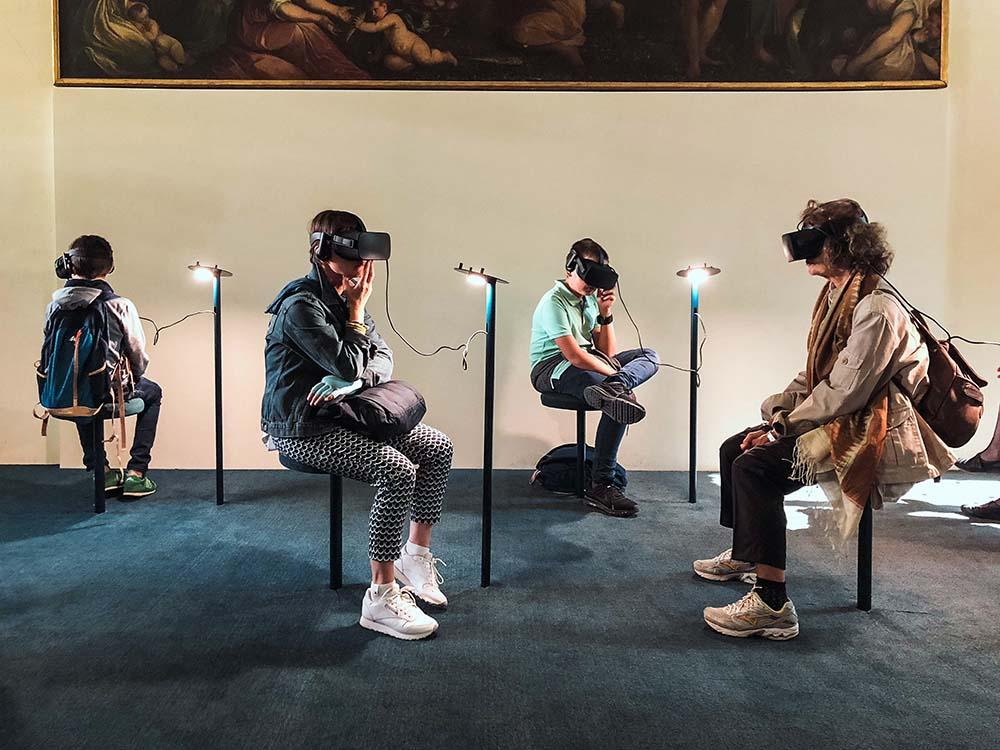 Museumsbesuch in der virtuellen Realität