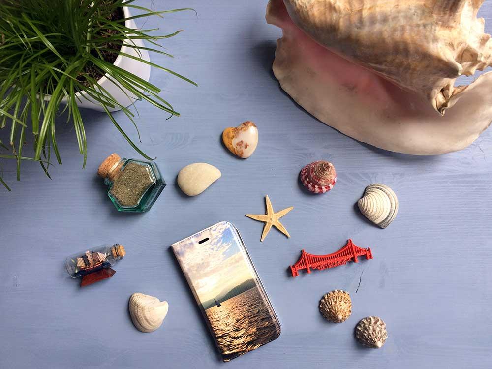 Eine Handyhülle mit Urlaubsbild ist das perfekte selbst gestaltete Andenken an eine Reise