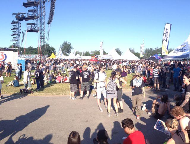 Das Rock in Vienna Festival in Wien