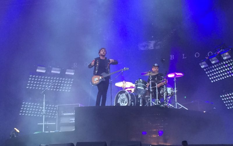 Royal Bloob beim Reading Festival in England