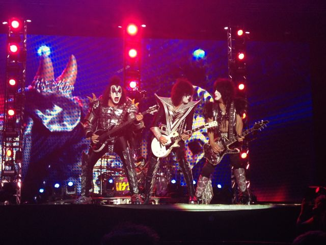 Kiss bei Rock in Vienna