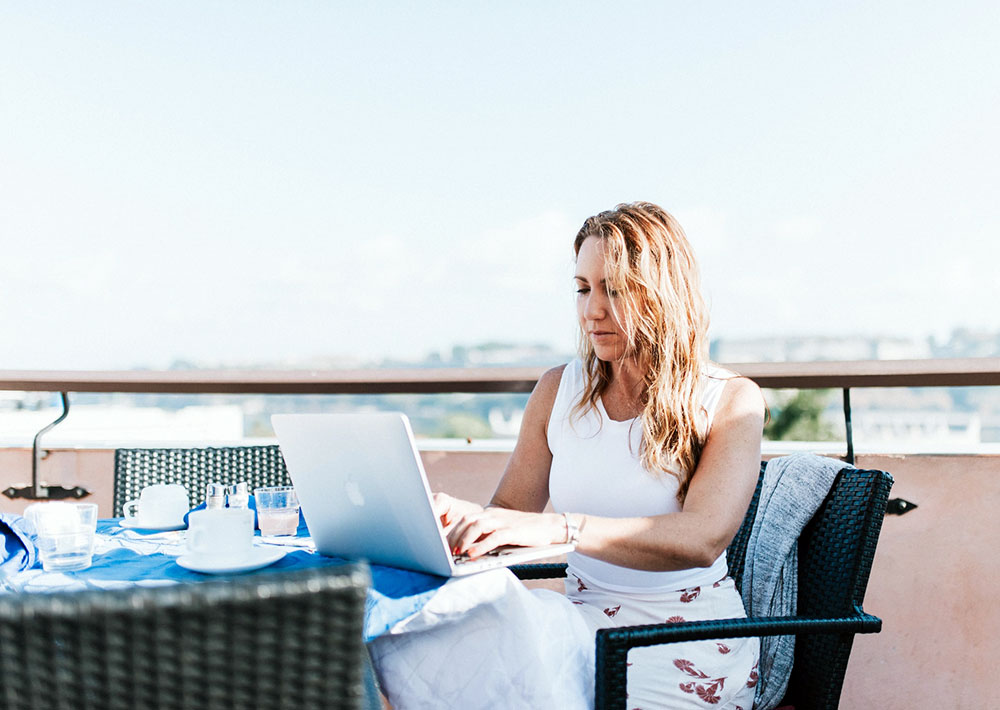 Ortsunabhängig arbeiten, Arbeit und Urlaub in perfekter Kombination.