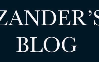 Velkommen til Zander's blog