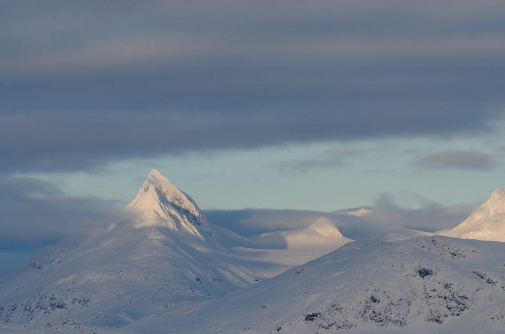 Fjelltopper over 1000 moh