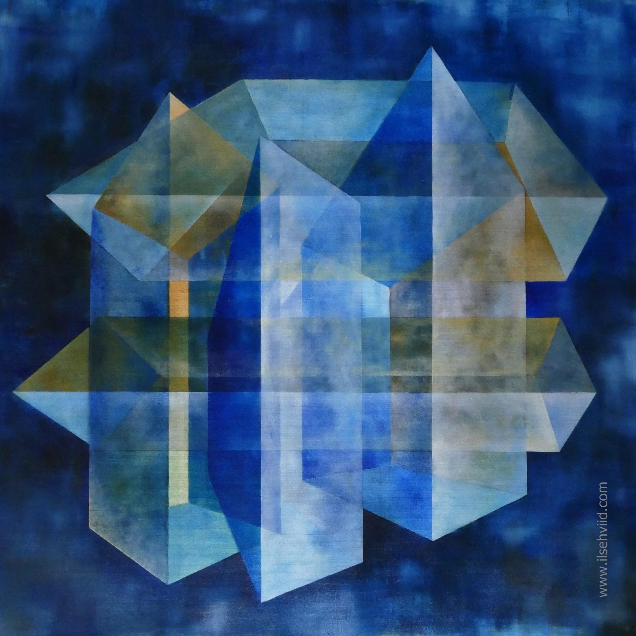den blå