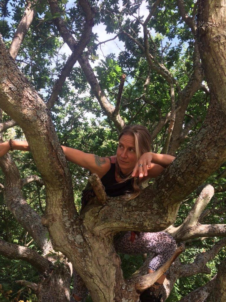 Karolines way of life hälsoblogg klättar i träd