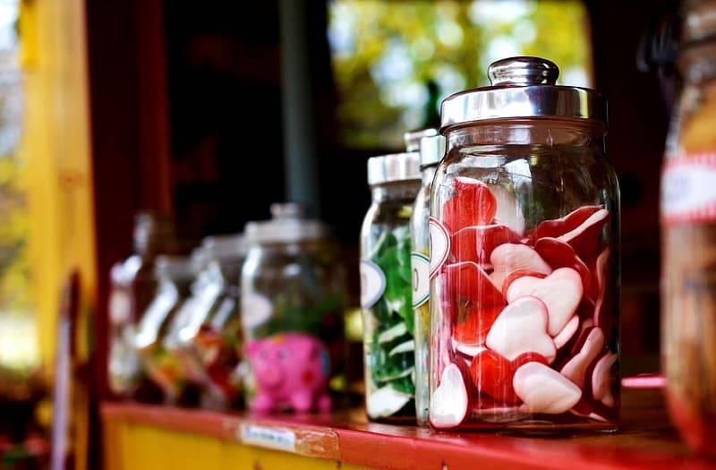 Godis i glasburkar, sockerpandemi, Karolines way of life hälsoblogg