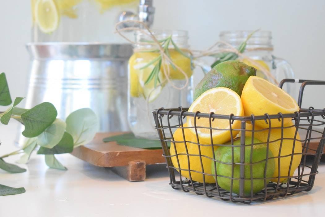 citroner, limer och citronvatten, Karolines way of life hälsoblogg