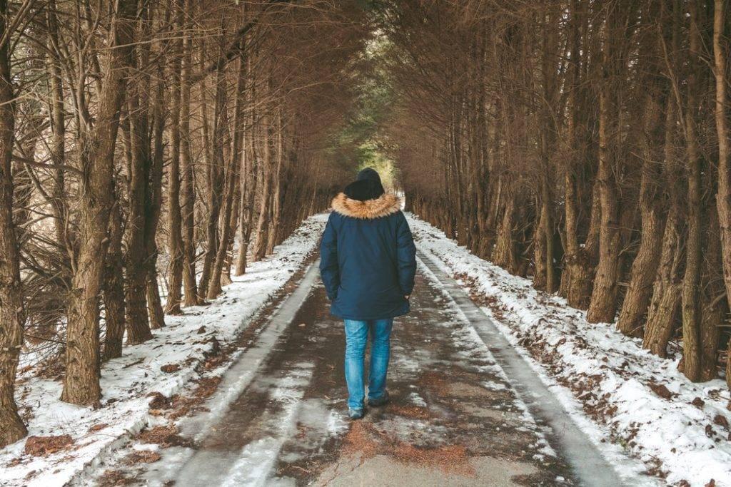 man går genom alle i vintern, vinterdepression, Karolines way of life hälsoblogg