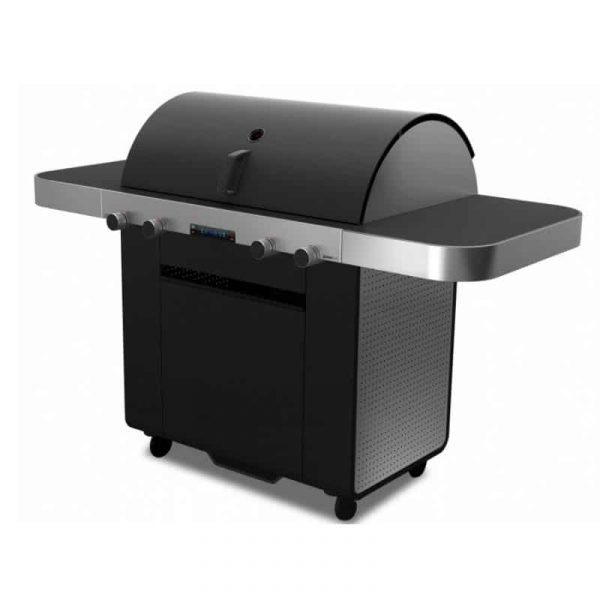 Grand Hall X-Series 1 Gasolgrill by Porsche Design Studio från sidan