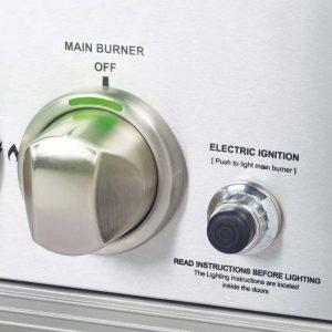 Crossray Heatstrip Gasolgrill elektrisk tändning