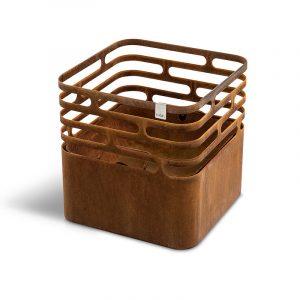 Höfats Cube Eldkorg & Kolgrill rost