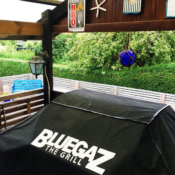 Bluegaz Z1 & Z1-NG grillöverdrag på grill