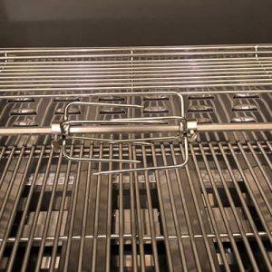Bluegaz Rotisserie 220v inuti grill