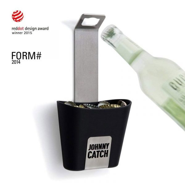 Höfats Johnny Catch Cup kapsylöppnare med Design Award-logga