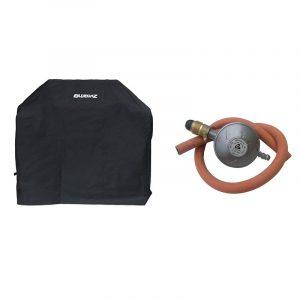 Bluegaz Z3, Z4 & Z6 Startpaket med grillöverdrag och gasregulator