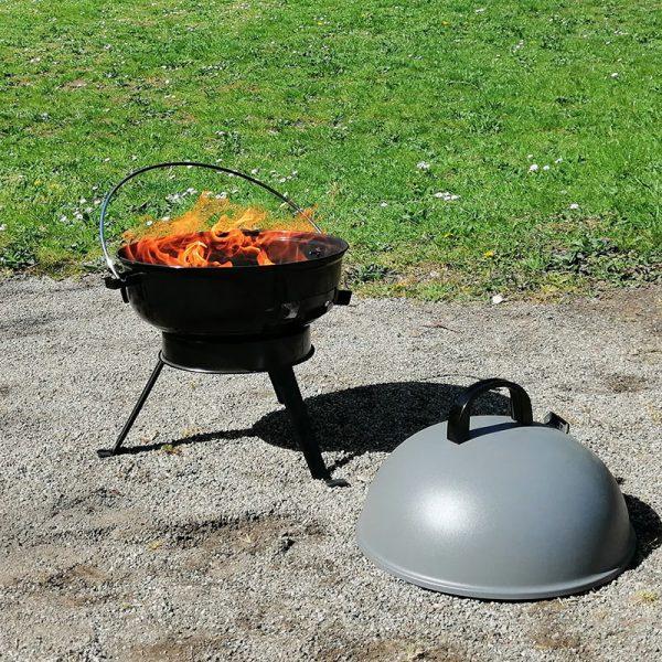 Grillning med Scandy Garden Picknick Grill