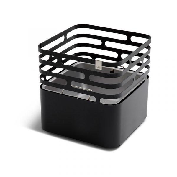 Höfats Cube Eldkorg & Kolgrill svart