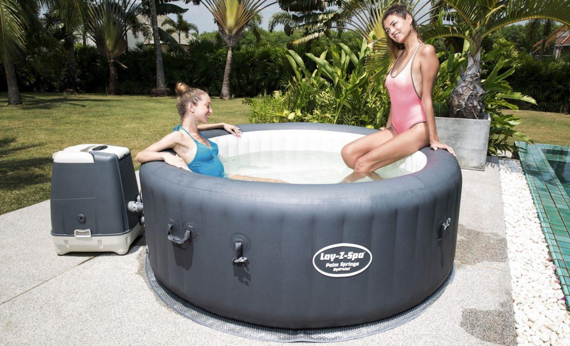 Jacuzzi Lay-Z-Spa Palm Springs HydroJet boblebad