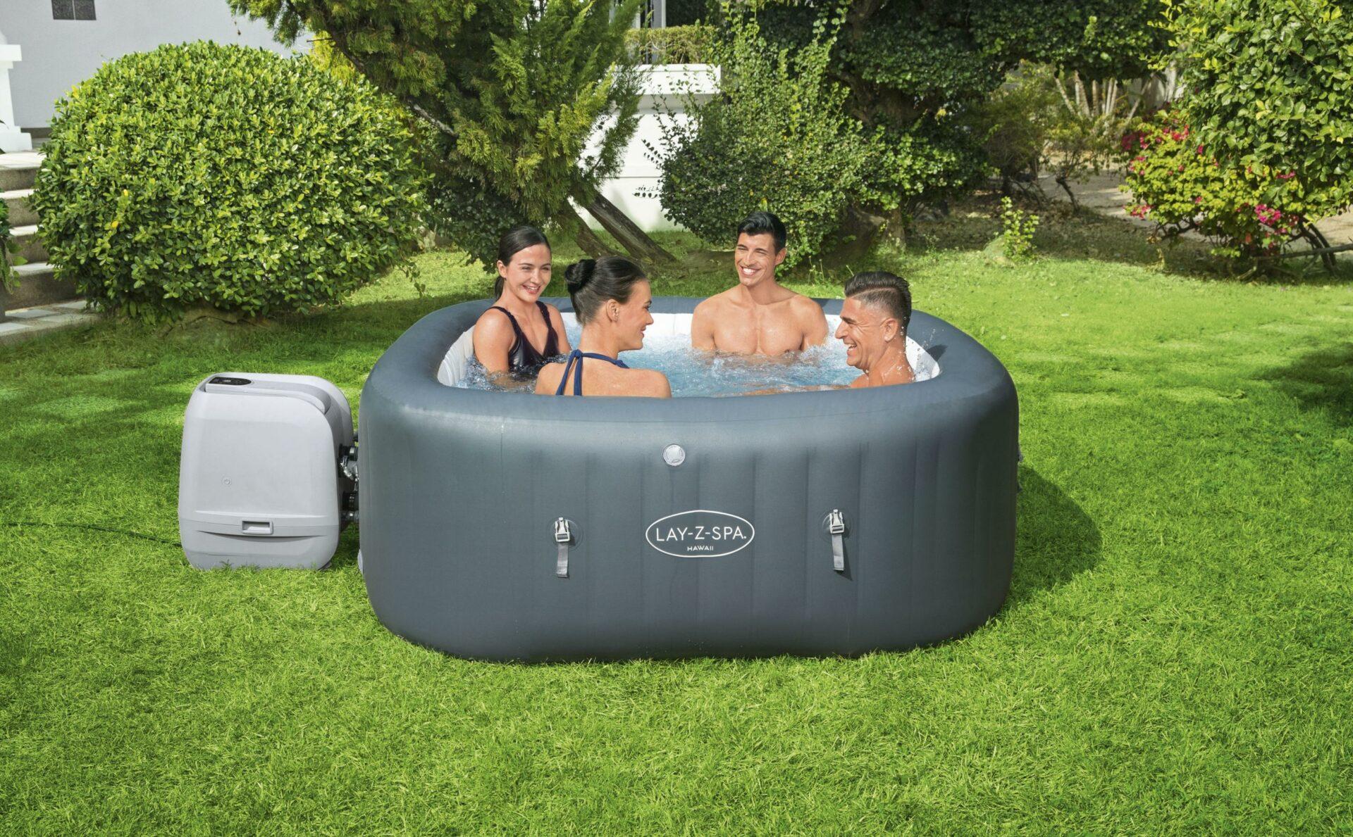 Lay-Z-Spa Hawaii HydroJet pro boblebad