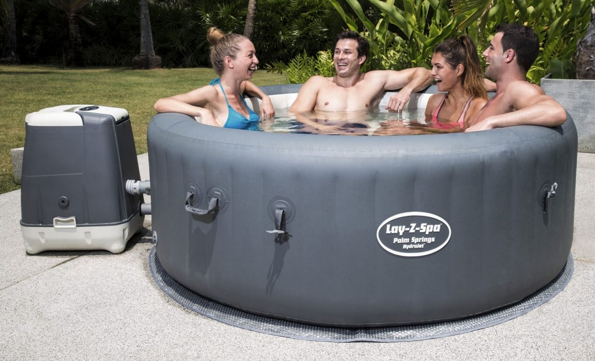 Lay-Z-Spa Palm Springs HydroJet Jacuzzi