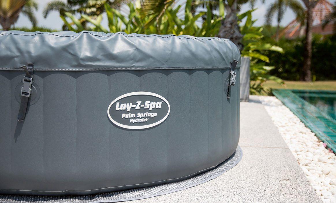Lay-Z-Spa Palm Springs HydroJet Oppblåsbar massasjebad