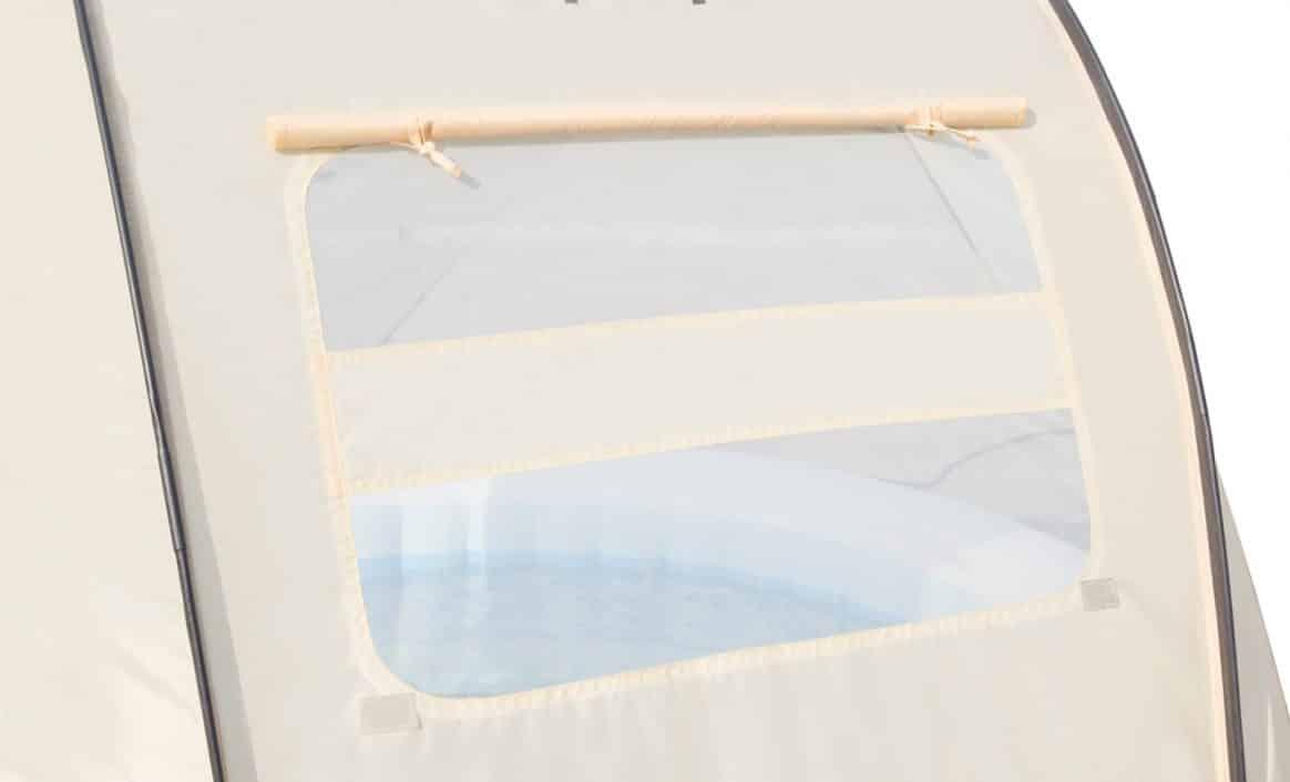 Innebygd vinduer Balkadin Lay-Z-Spa