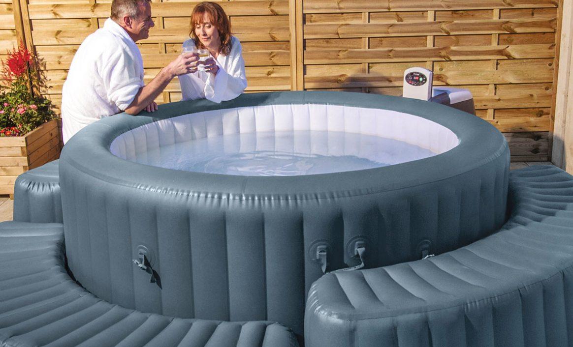 Lay-Z-Spa massasjebad møbel